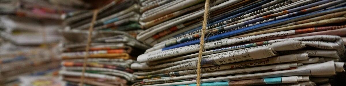 zber novín