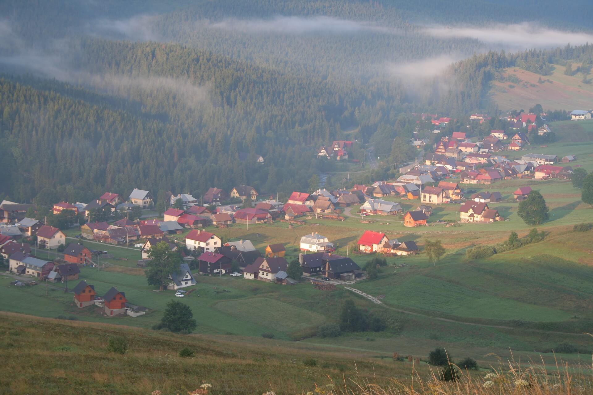 slovenská dedina